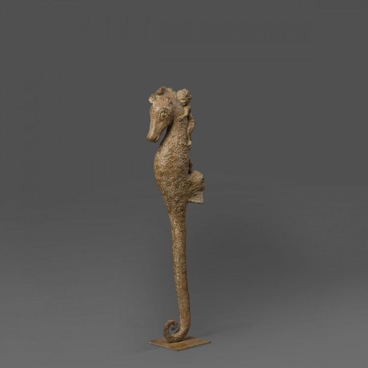 Sculpture Bronze Mon Hippocampe