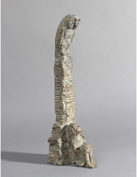 Sculpture bronze Jeune Philosophe