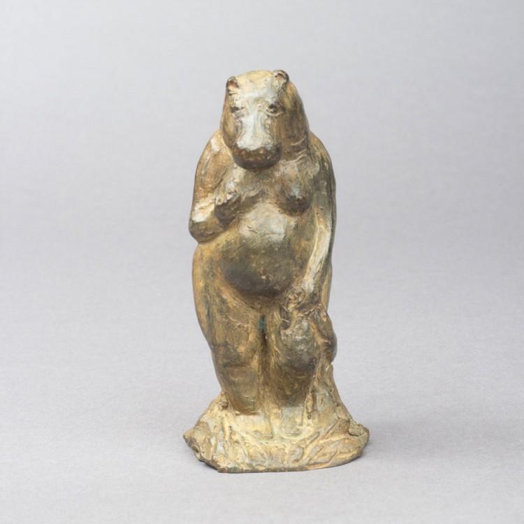 L'œuvre Venus anadyomène, sculpture bronze animalier de Sophie Verger